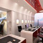 Thiết kế nội thất văn phòng trong ngành hàng không