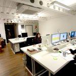 Thiết kế văn phòng làm việc 50m2 tiết kiệm chi phí.