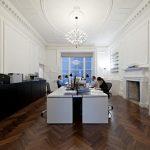 Công trình thiết kế văn phòng công ty vận tải quốc tế theo phong cách cổ điển