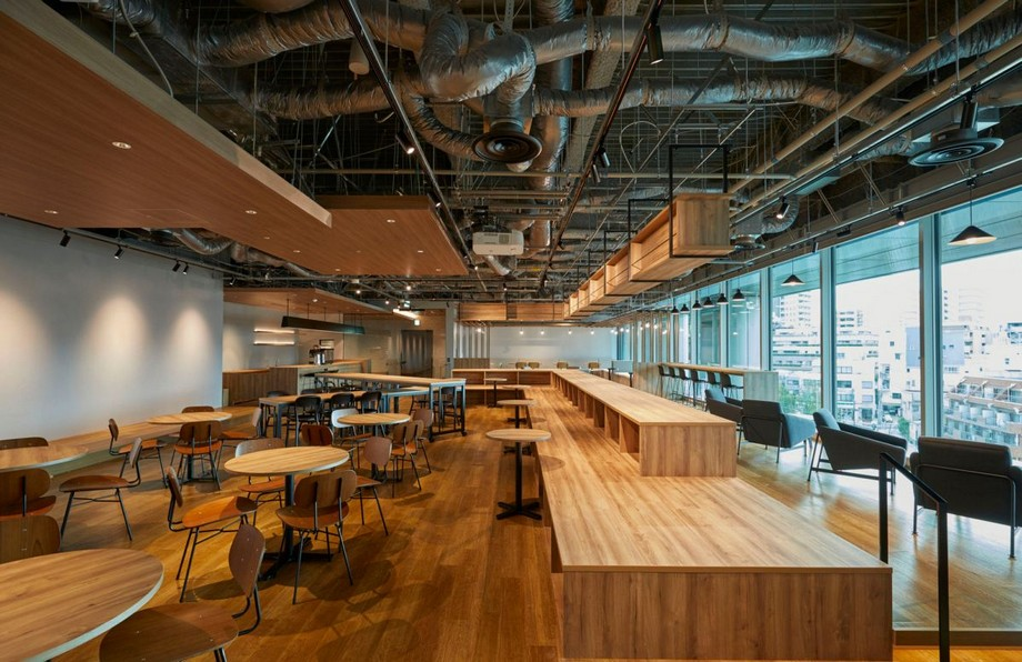 Thiết kế văn phòng kiểu Nhật