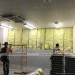 Thi công trần thạch cao văn phòng tại Trung tâm thương mại lớn Aeon Long Biên