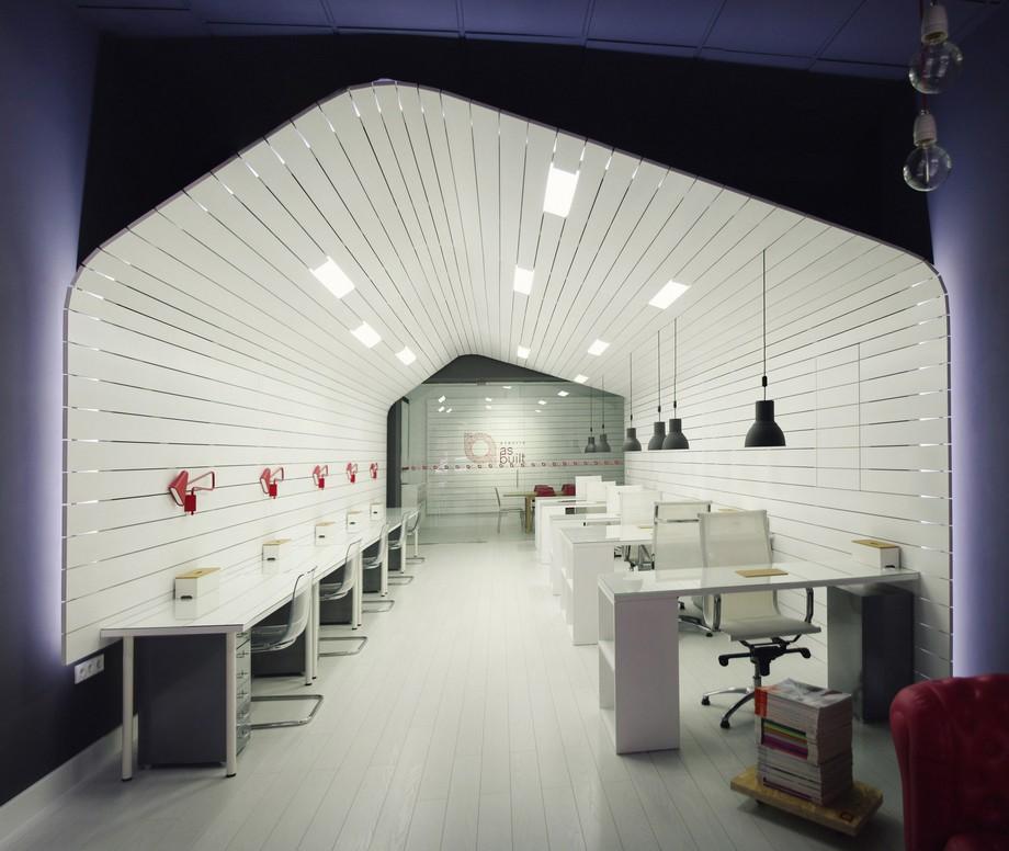 Thiết kế nội thất văn phòng đẹp sang trọng với hình chiếc thuyền độc đáo