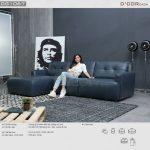 Khỏe khoắn sang trọng trong thiết kế sofa Ý – DG1067