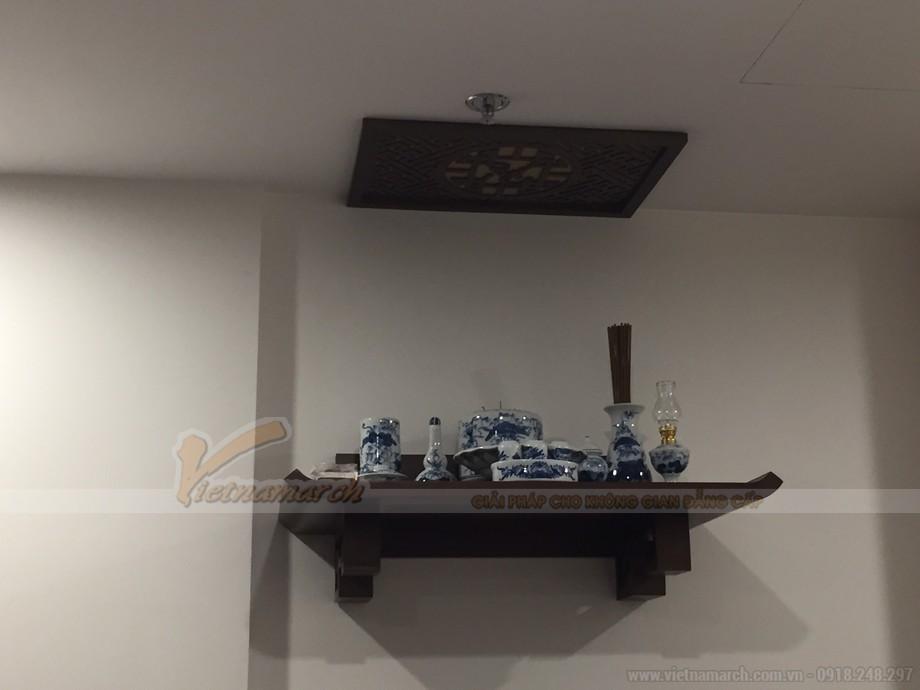Nhà có 3 bát hương nên chọn bàn thờ kích thước như thế nào?