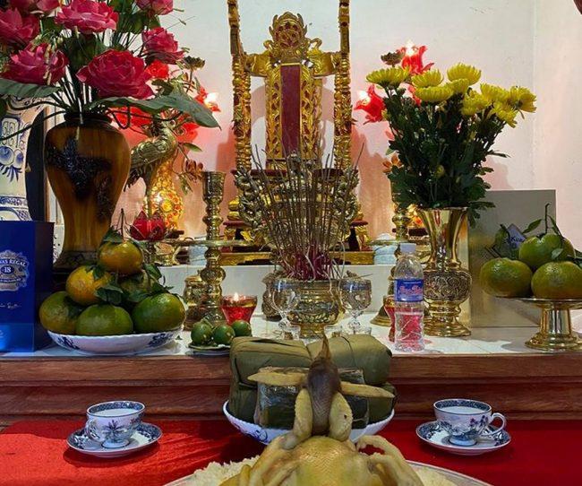 Lễ cúng rằm tháng Giêng tại nhà thờ họ Trần năm 2020