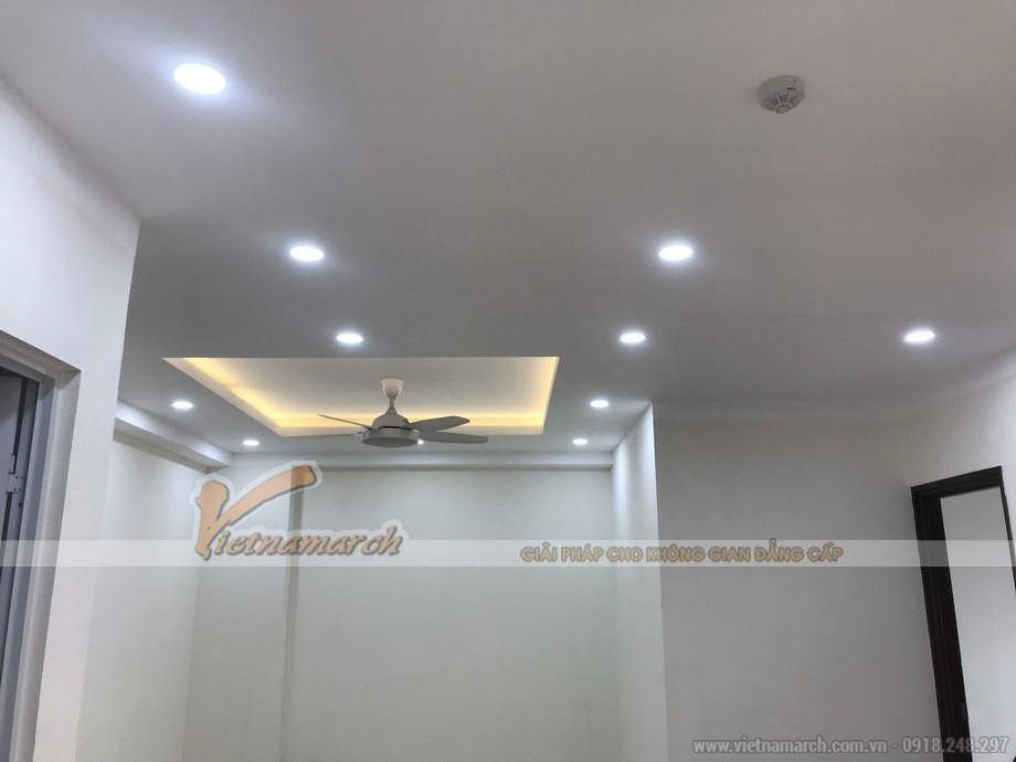 Hình ảnh hoàn thiện trần nhà chung cư đẹp cho gia chủ tại Định Công