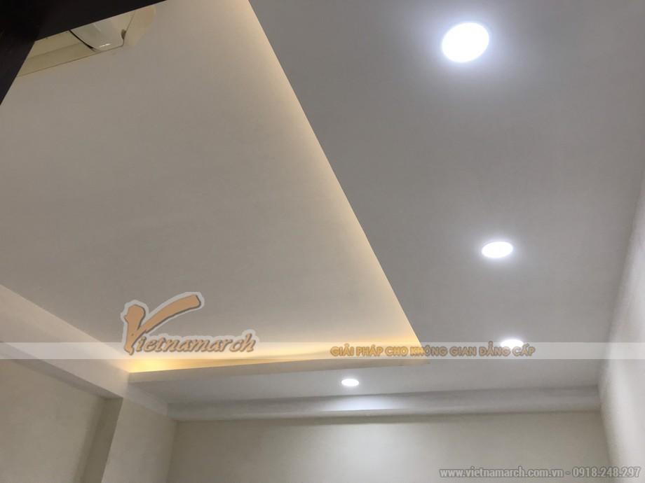 Cùng chiêm ngưỡng những hình ảnh đẹp và ấn tượng sau khi hoàn thiện trần nhà thạch cao chung cư .