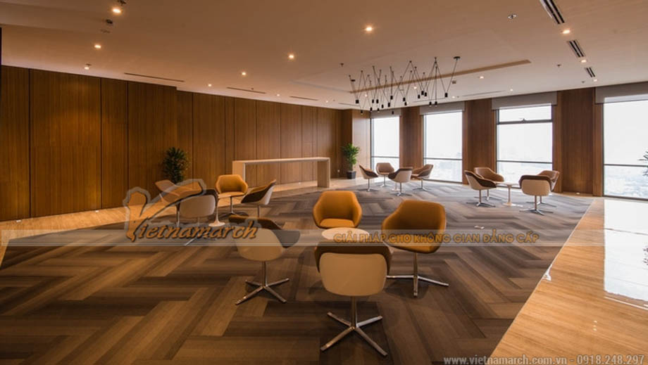 Thiết kế phòng hội nghị khách hàng trong văn phòng bất động sản
