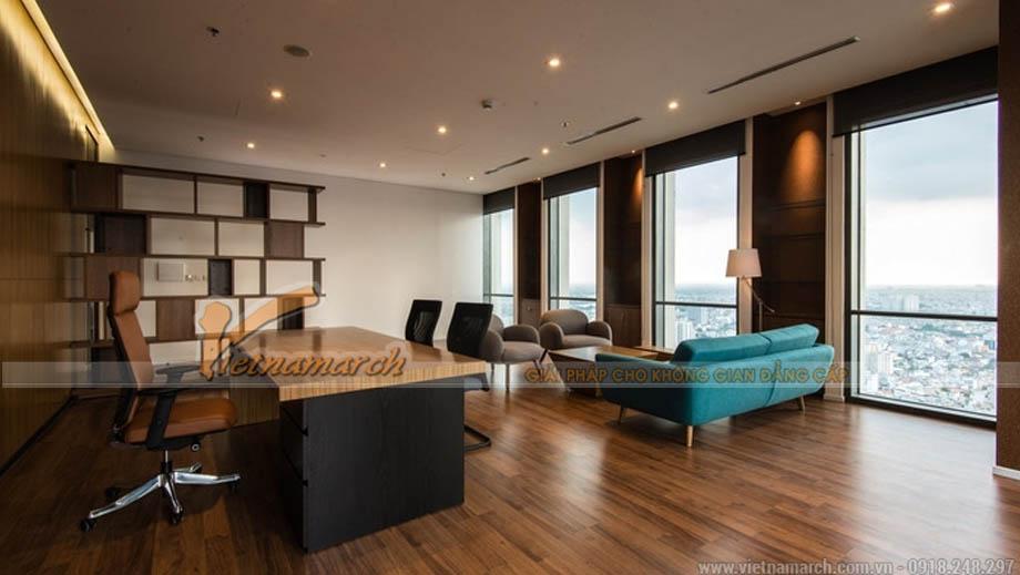 Thiết kế văn phòng bất động sản đẹp
