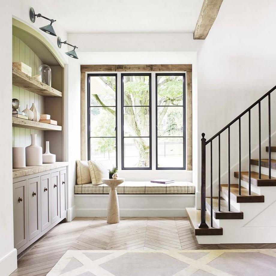 Thiết kế hành lang ngôi nhà