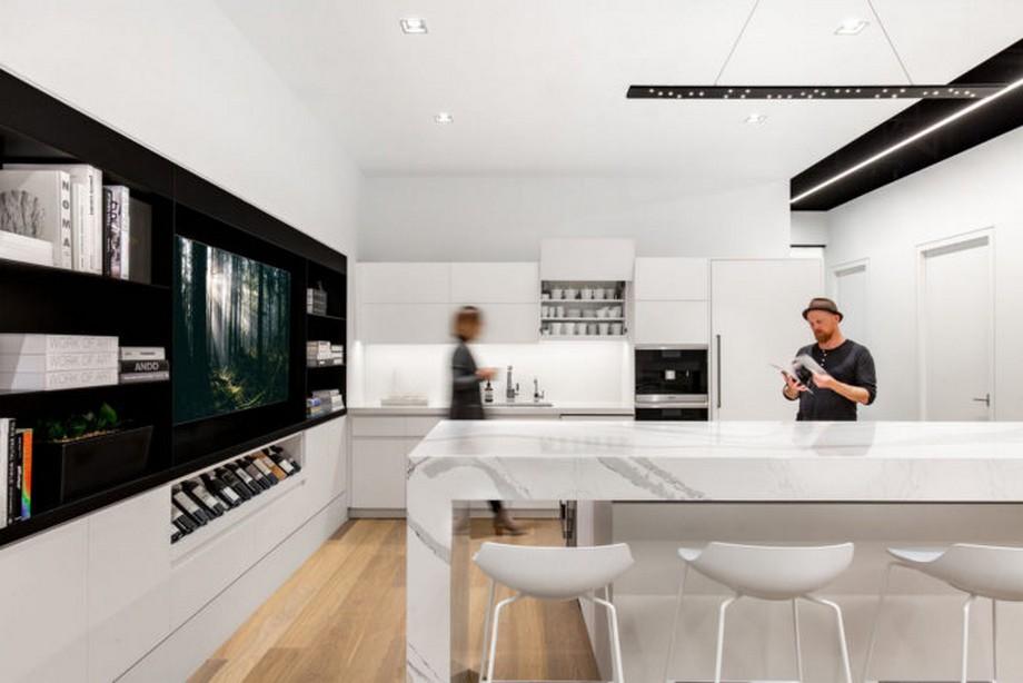 Thiết kế văn phòng bất động sản cao cấp