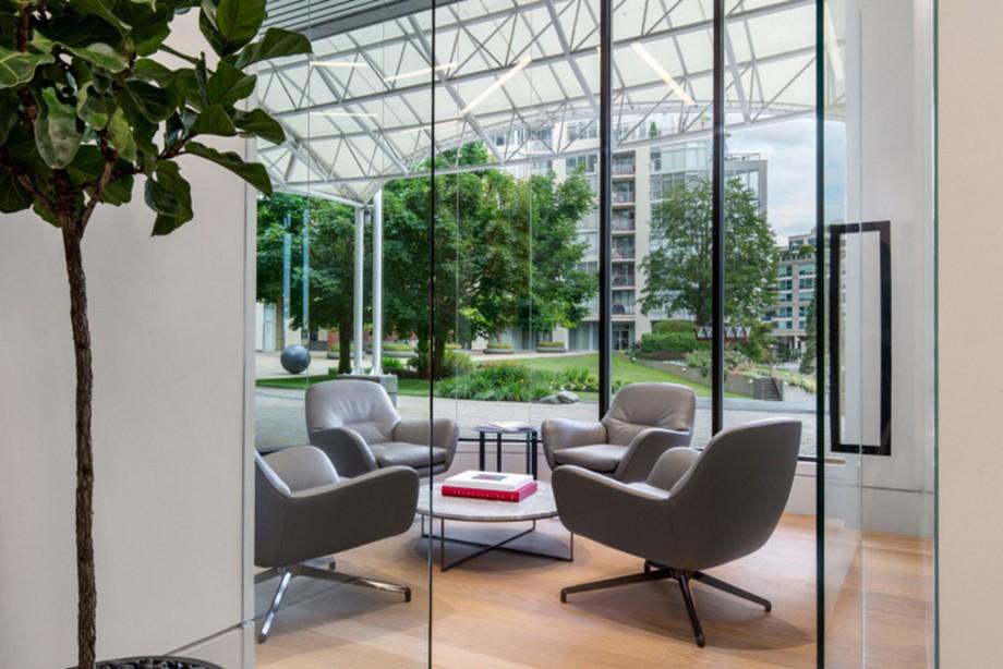 Thiết kế phòng họp nhóm riêng trong văn phòng