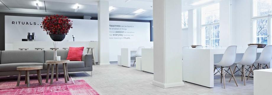 Thiết kế văn phòng màu sắc hài hòa