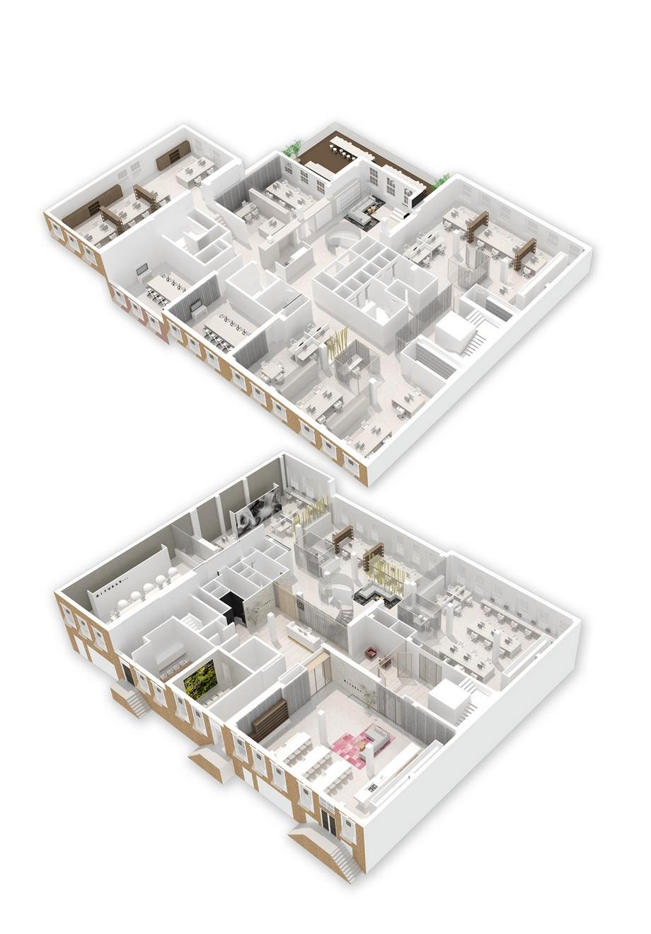Thiết kế nội thất văn phòng mỹ phẩm mang tính chuyên nghiệp cao