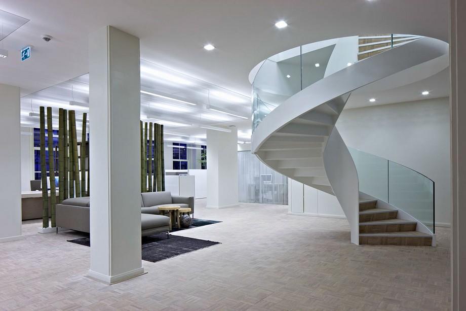 Thiết kế cầu thang văn phòng