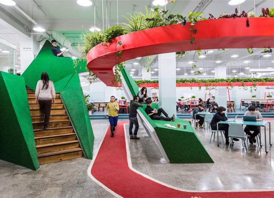 Thiết kế văn phòng coworking space