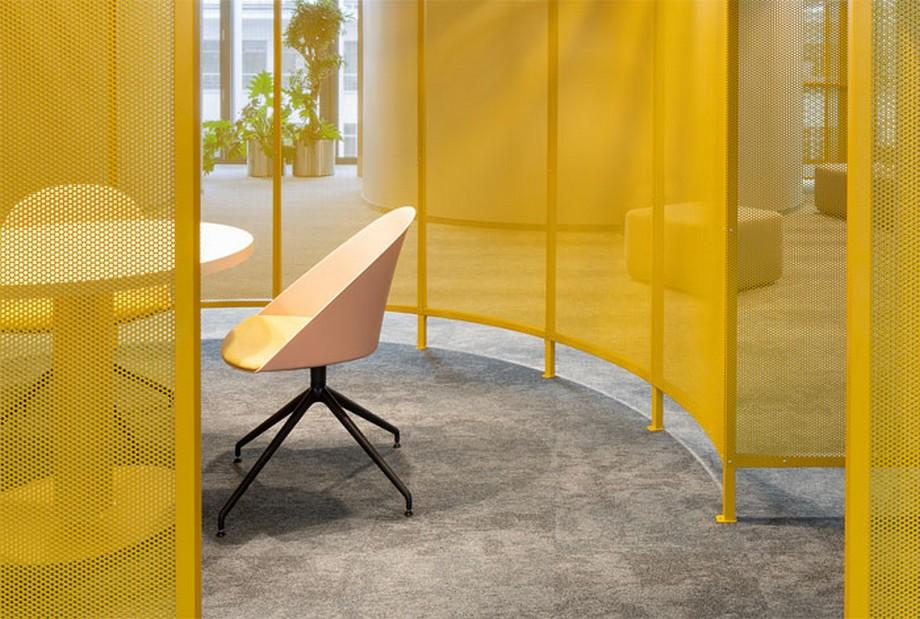 Thiết kế văn phòng với điểm trang trí độc đáo