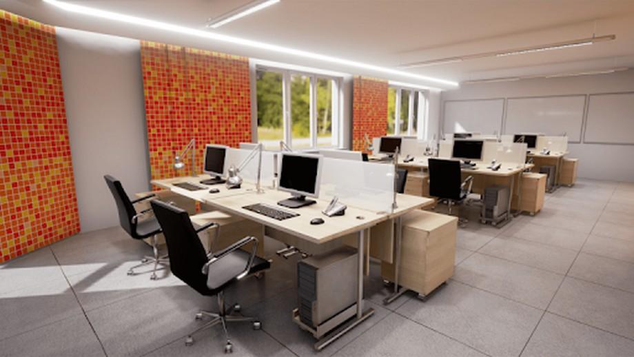 Một số mẫu thiết kế văn phòng 30m2 đẹp
