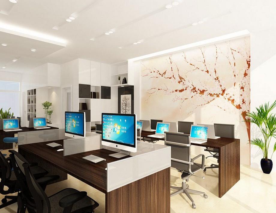 Mẫu thiết kế văn phòng 30m2 đẹp