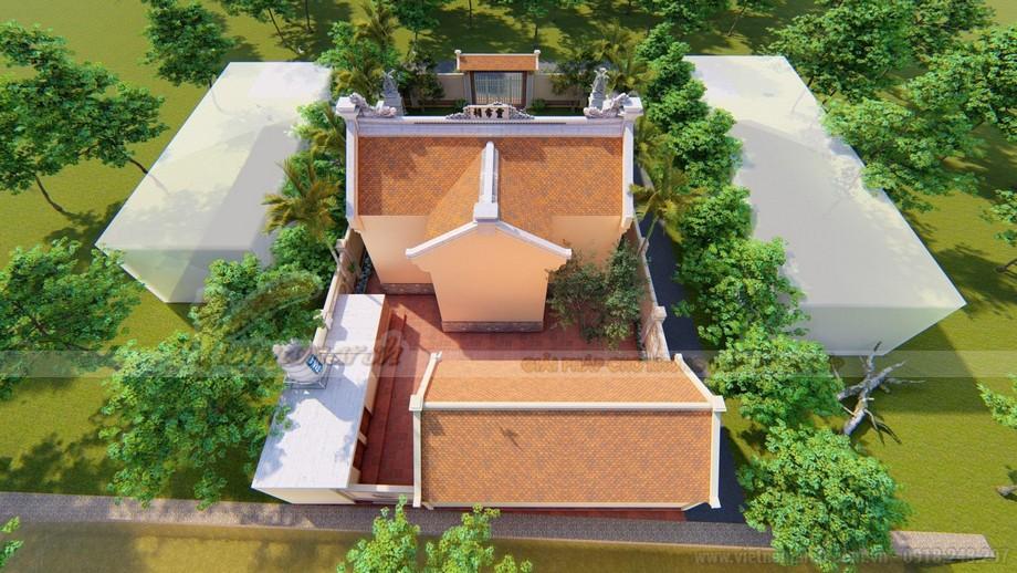 Mẫu thiết kế nhà thờ họ đẹp cho diện tích nhỏ