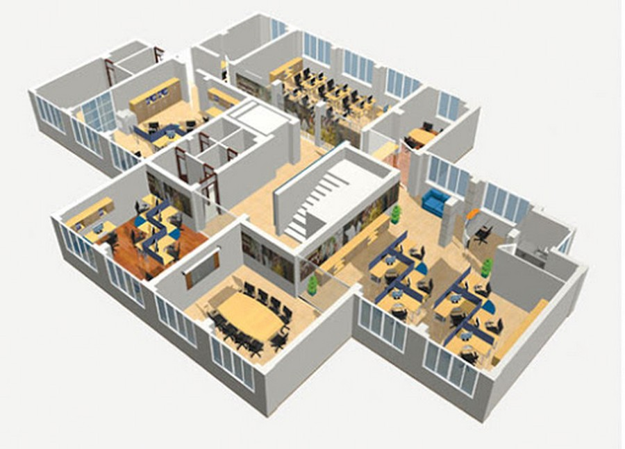 Đơn giá hoàn thiện văn phòng