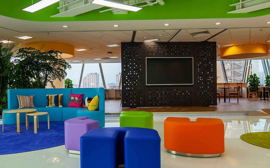 Thiết kế Phòng thư giãn độc đáo có một không hai trong công ty