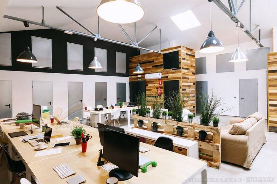 Phong thủy khi thiết kế nội thất phòng nhân viên