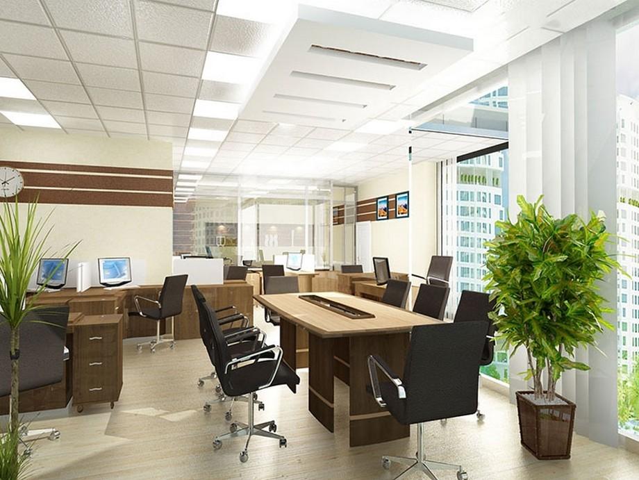 Thiết kế văn phòng 30m, đẹp, hiện đại
