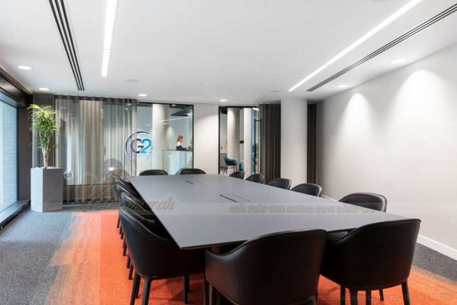 Thiết kế phòng họp văn phòng du lịch