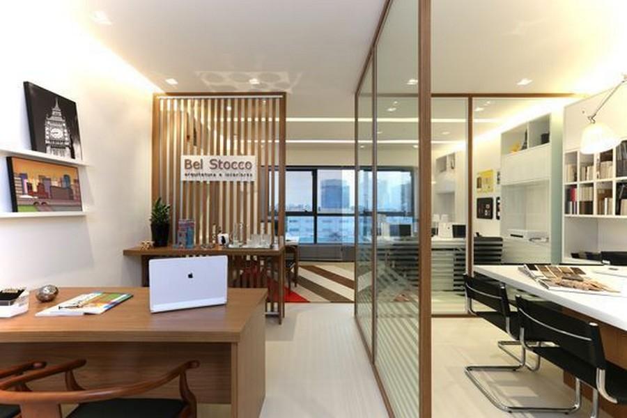 thiết kế văn phòng công ty nhỏ đẹp