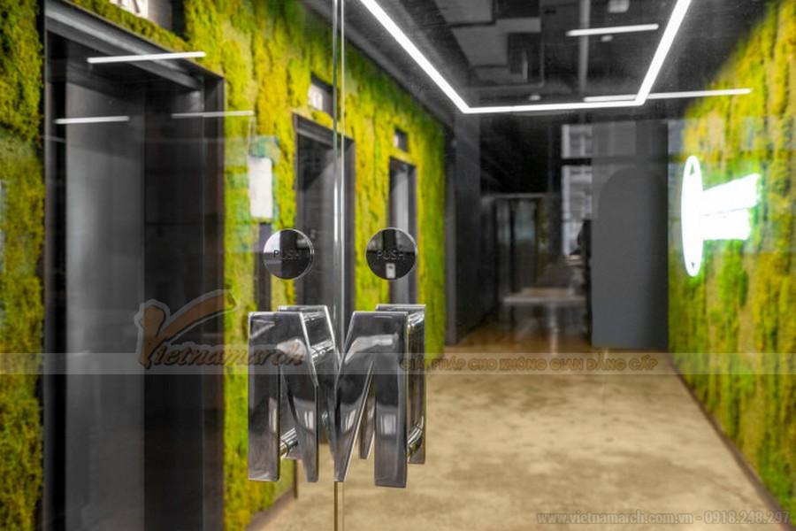 Thiết kế sảnh vào văn phòng quảng cáo Mekanism