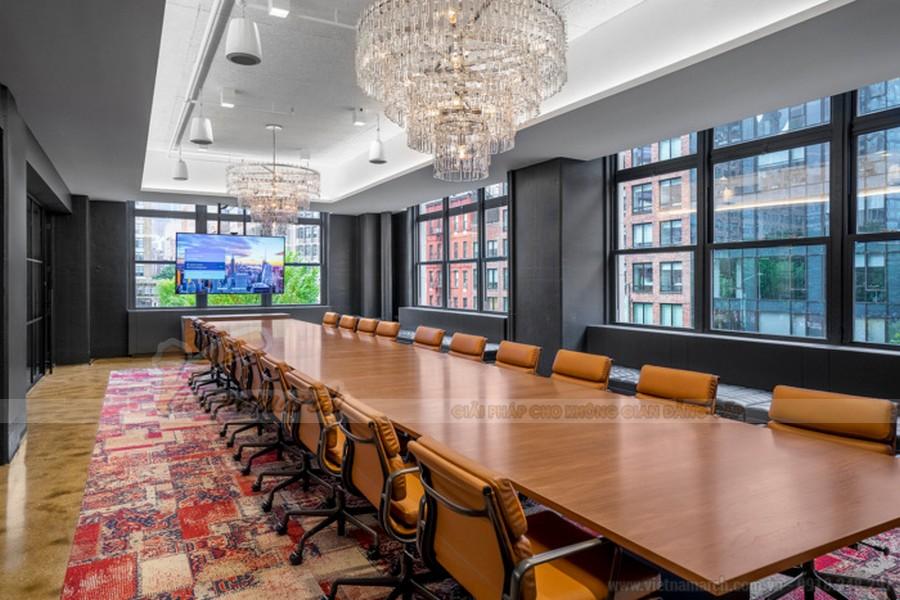 Thiết kế phòng họp đẹp và sang trọng