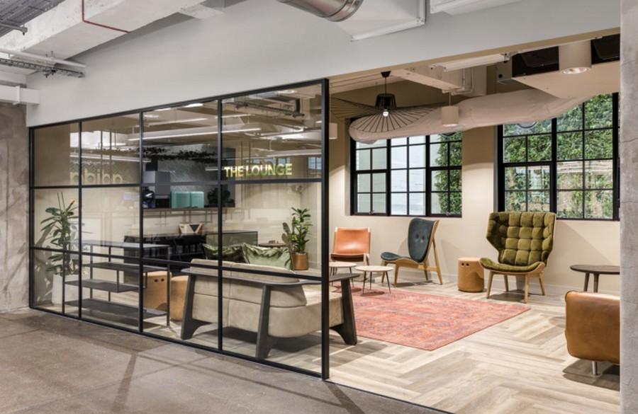 Thiết kế sảnh văn phòng mang phong cách đặc biệt