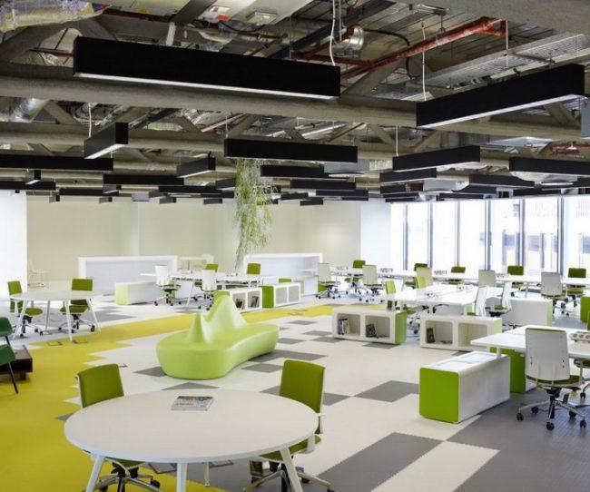 Thiết kế văn phòng làm việc 50m2 chuẩn đẹp hiện đại