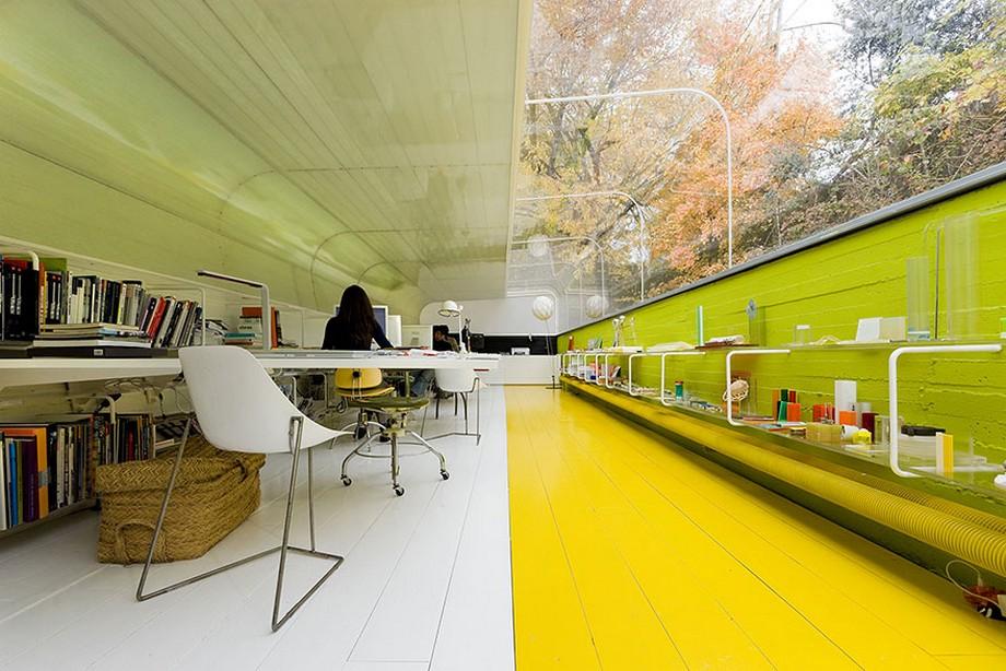 Mẫu thiết kế văn phòng nhà ống sáng tạo