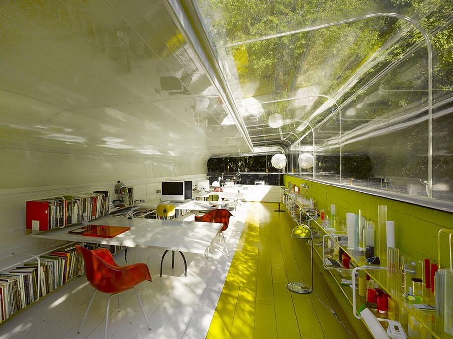 Khám phá mẫu thiết kế văn phòng nhà ống sáng tạo