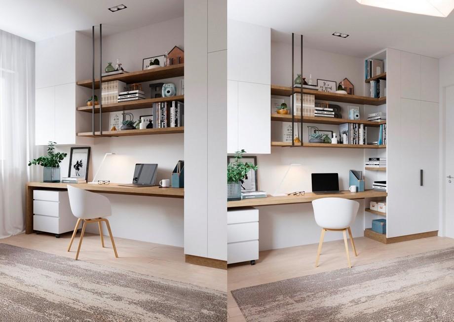 Những lưu ý khi thiết kế văn phòng tại nhà