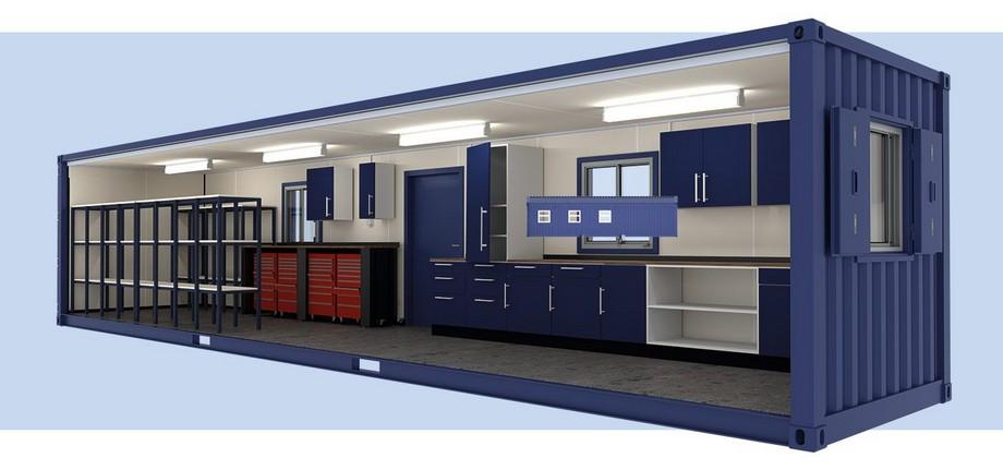 3 cách thiết kế thi công văn phòng bằng container