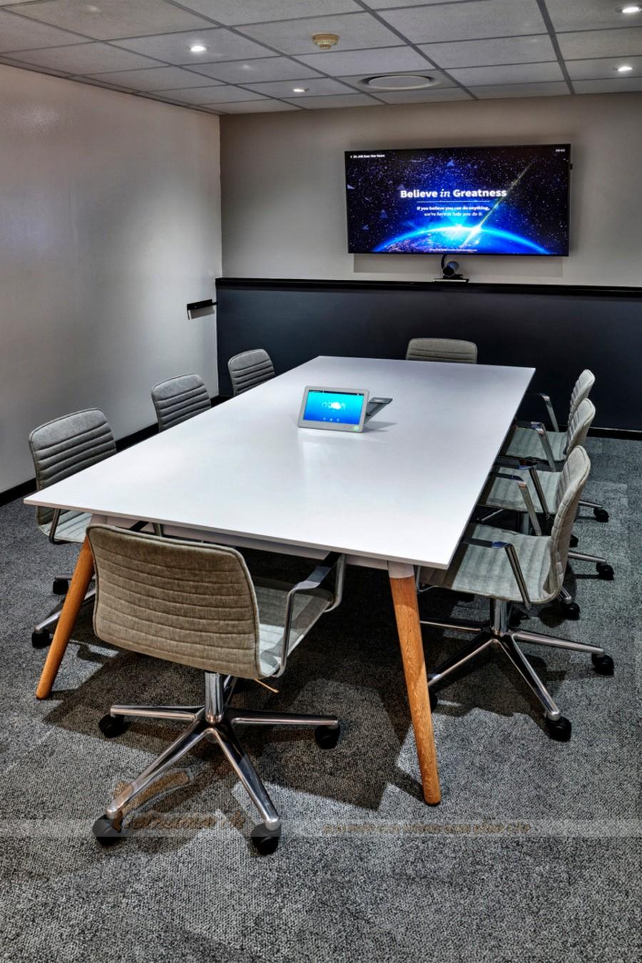 Thiết kế phòng họp nhỏ theo phong cách đơn giản, hiện đại