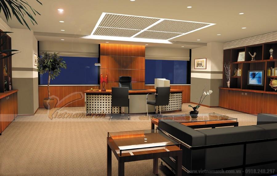 Thiết kế nội thất ngân hàng đẹp, ấn tượng
