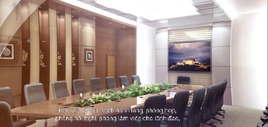 Bên trong văn phòng hạng A Thaiholding Tower có gì