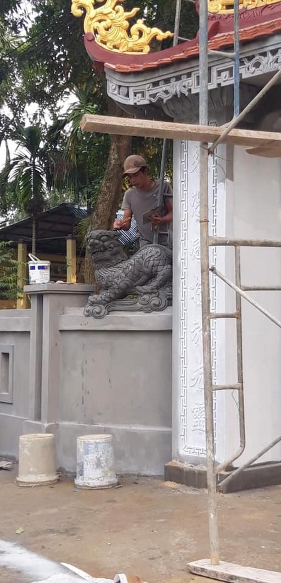 Cải tạo lại nhà thờ họ 3 gian 2 mái của dòng họ Ngô Đức mang đậm nét văn hóa của xứ Huế
