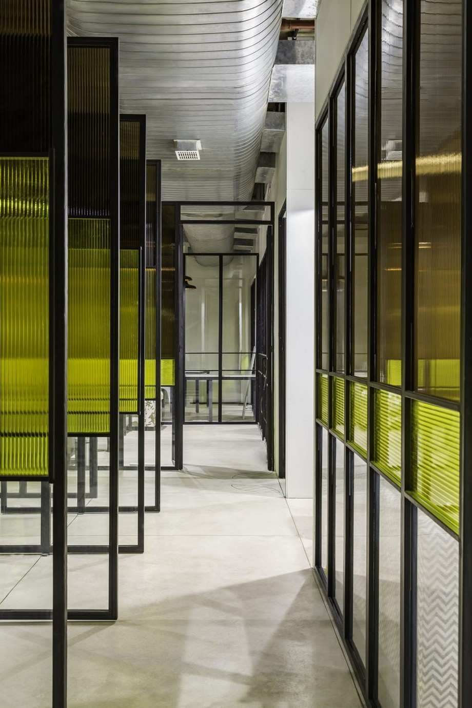 Mẫu thiết kế coworking space điển hình