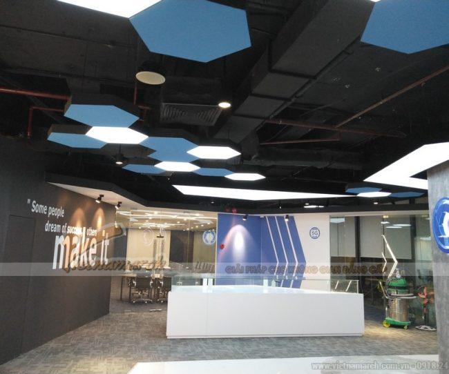 Thiết kế nội thất văn phòng Golden Net