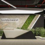 Phương án thiết kế nội thất văn phòng công ty Golden West – Thanh Xuân – Hà Nội