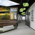 Dự án thiết kế văn phòng công ty Dịch vụ Vệ sinh Công nghiệp Hoàn Mỹ