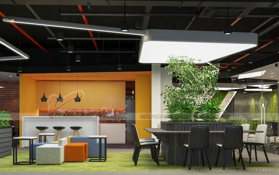 Dự án thiết kế nội thất văn phòng Golden West Thanh Xuân