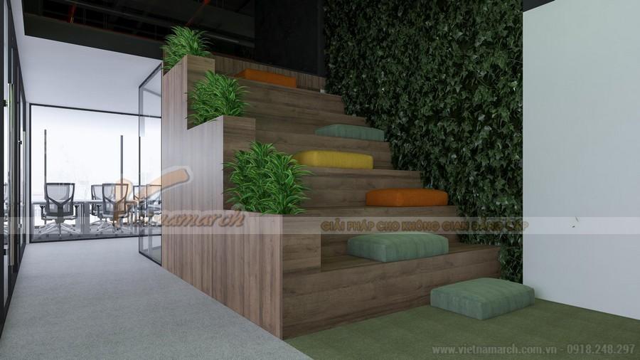 Thiết kế văn phòng công ty Hoàn Mỹ chuyên nghiệp và ấn tượng