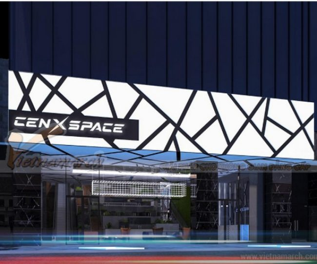 Dự án thiết kế văn phòng CenXspace