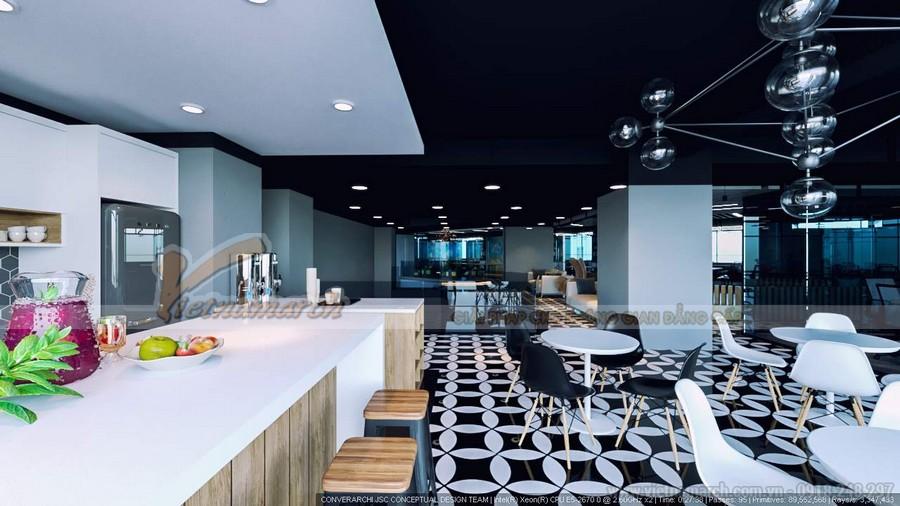 Phương án thiết kế nội thất văn phòng UP Coworking Space – Số 1 Lương Yên